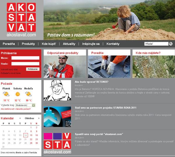 novy stavebny portal www.akostavat.com