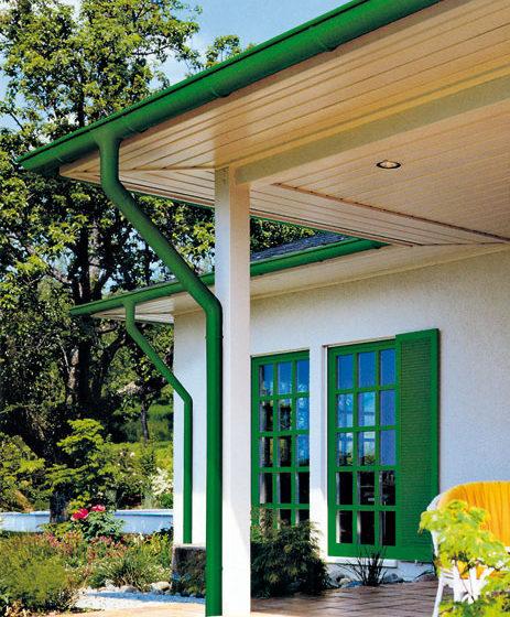 odkvapove systemy pre domy so sikmou strechou