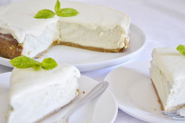 Pochutnajte si na našej mätovej torte