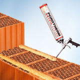 POROTHERM Profi DRYFIX extra  – revolučný systém murovania pálených tehál