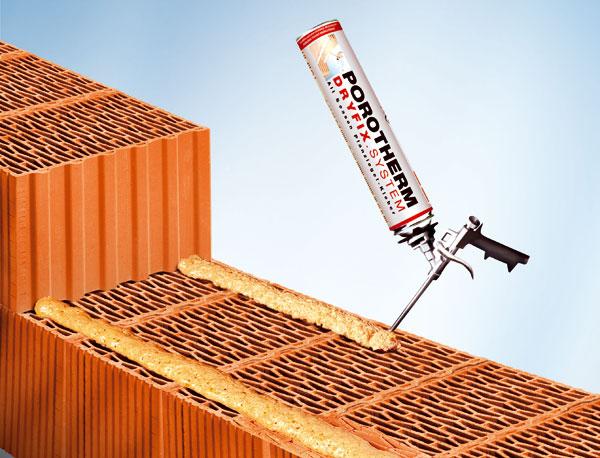 porotherm profi dryfix extra revolucny system murovania palenych tehal