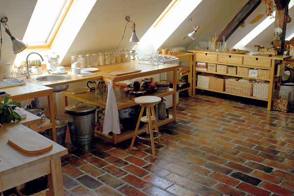 prirodny dizajn v kuchyni