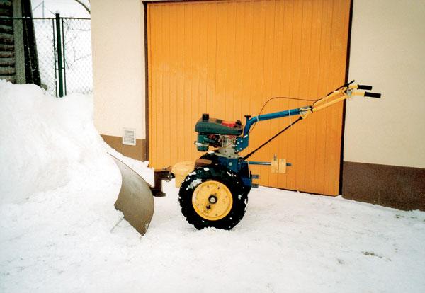 radlica na malotraktor