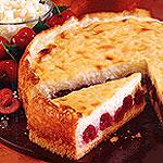 Ryžový koláč s višňami