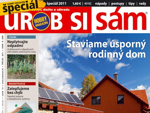 Špeciál hobby magazínu Urob si sám 2011 v predaji