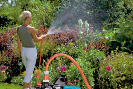 Stroje a zariadenia na zavlažovanie záhrady
