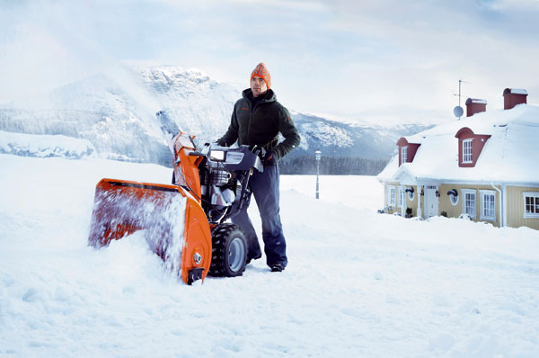 Údržba snehových fréz