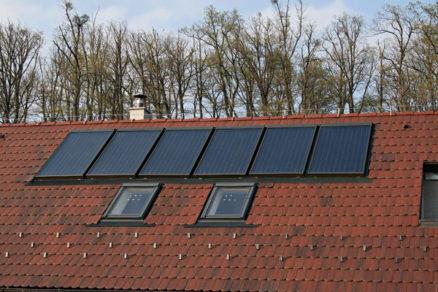 uspory pouzitim slnecnych kolektorov