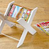 Vyrobte si praktický stojan na odkladanie časopisov