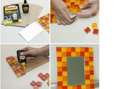 Vyrobte si štýlové zrkadlo vlastnými rukami