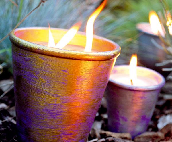Vyrobte si sviečky v domácich podmienkach