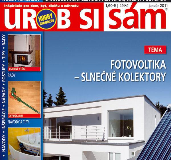b63866b42 Vyšlo nové číslo časopisu Urob si sám 01/2011 | Urob si sám