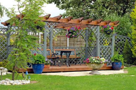 Záhradná pergola za jeden víkend