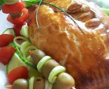 zapeceny camembert